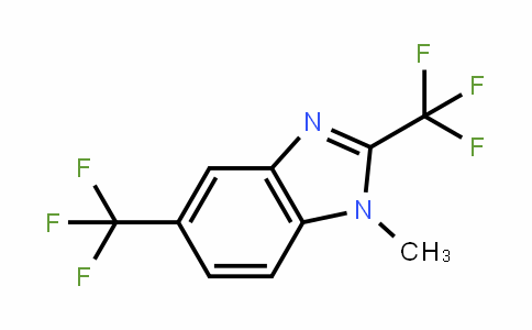 1-methyl-2,5-bis(trifluoromethyl)-1H-benzo[d]imidazole