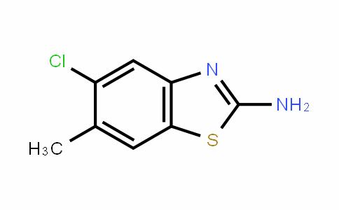 2-氨基-5-氯-6-甲基-1,3-苯并噻唑