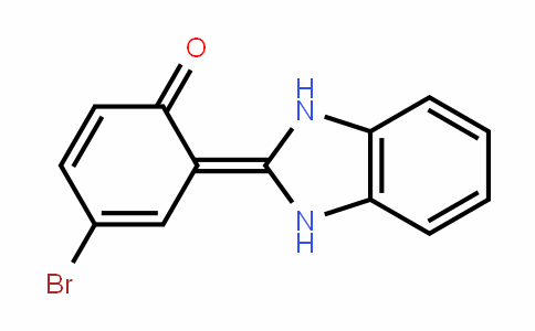 4-bromo-6-(1,3-dihydrobenzimidazol-2-ylidene)cyclohexa-2,4-dien-1-one