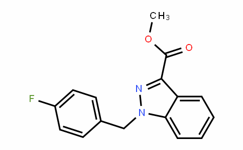 methyl 1-(4-fluorobenzyl)-1H-indazole-3-carboxylate