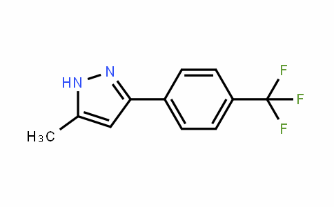 5-methyl-3-(4-(trifluoromethyl)phenyl)-1H-pyrazole