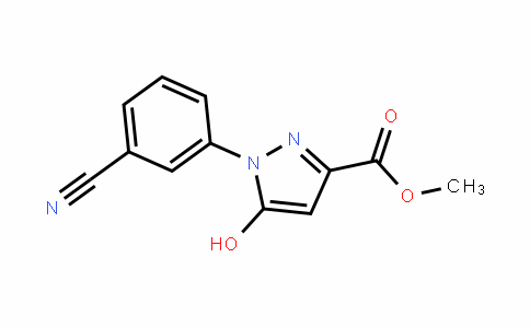 methyl 1-(3-cyanophenyl)-5-hydroxy-1H-pyrazole-3-carboxylate