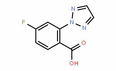 4-fluoro-2-(2H-1,2,3-triazol-2-yl)benzoic acid