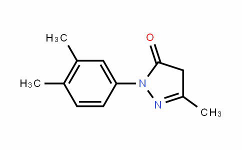 2-(3,4-dimethylphenyl)-5-methyl-4H-pyrazol-3-one