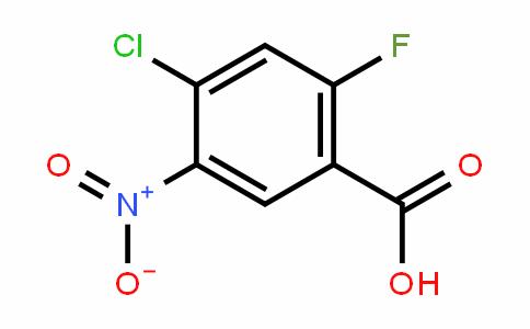 4-氯-2-氟-5-硝基苯甲酸