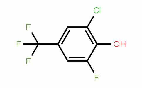2-Chloro-6-fluoro-4-(trifluoromethyl)phenol