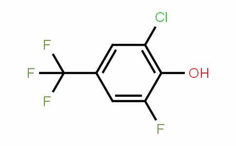 2-氯-6-氟-4-三氟甲基苯酚