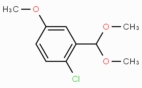 2-Chloro-5-methoxybenzaldehyde dimethyl acetal