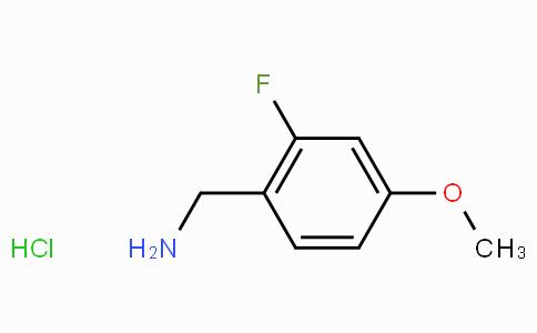 2-Fluoro-4-methoxybenzylamine hydrochloride