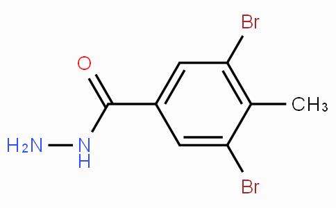 3,5-Dibromo-4-methylbenzoic hydrazide