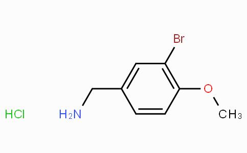3-Bromo-4-methoxybenzylamine hydrochloride