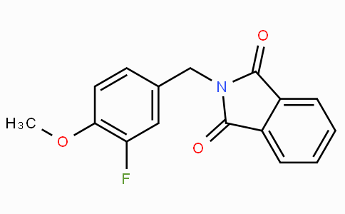 3-Fluoro-4-methoxybenzylphthalimide