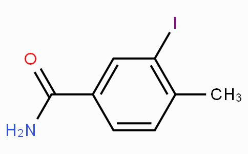 3-Iodo-4-methylbenzamide