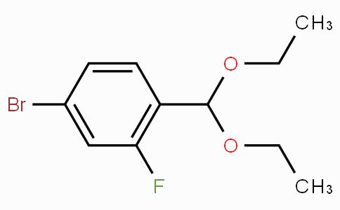 4-Bromo-2-fluorobenzaldehyde diethyl acetal