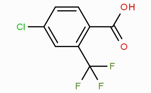 4-氯-2-(三氟甲基)苯甲酸