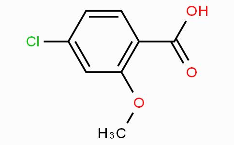 4-氯-2-甲氧基苯甲酸