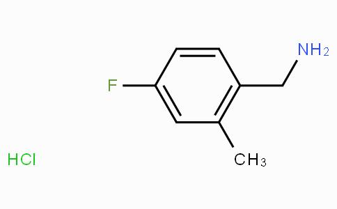 4-Fluoro-2-methylbenzylamine hydrochloride