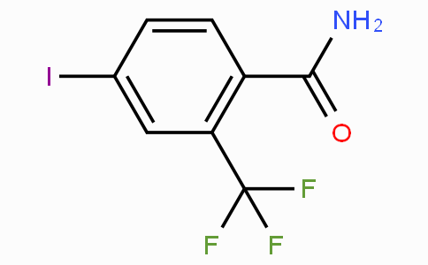 4-iodo-2-(trifluoromethyl)benzamide