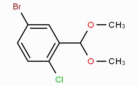 5-Bromo-2-chlorobenzaldehyde dimethyl acetal