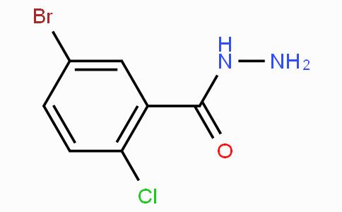 5-Bromo-2-chlorobenzoic hydrazide