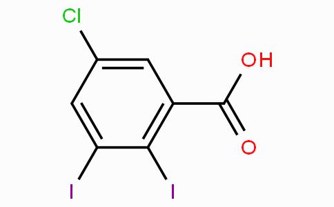 5-Chloro-2,3-diiodobenzoic acid
