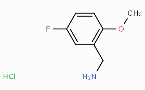 5-Fluoro-2-methoxybenzylamine hydrochloride