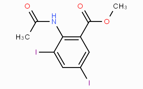 Methyl 2-acetamido-3,5-diiodobenzoate