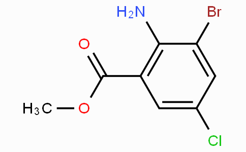 Methyl 2-amino-3-bromo-5-chlorobenzoate