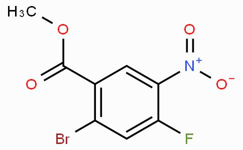 Methyl 2-bromo-4-fluoro-5-nitrobenzoic acid