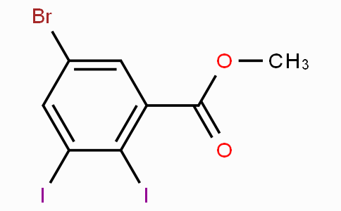 Methyl 5-bromo-2,3-diiodobenzoate
