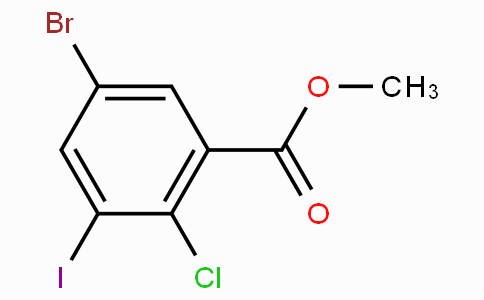 Methyl 5-bromo-2-chloro-3-iodobenzoate