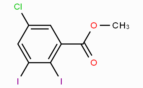 Methyl 5-chloro-2,3-diiodobenzoate