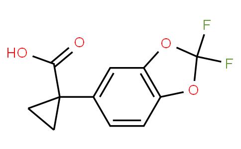 1-(2,2-二氟苯并[D][1,3]二氧杂环戊烯-5-基)环丙烷甲酸