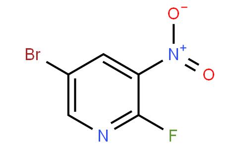 2-氟-3-硝基-5-溴吡啶