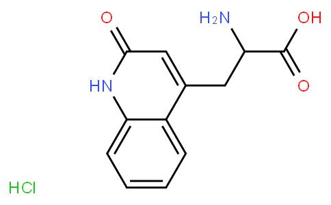 R4(886) 4-Quinolinepropanoic acid,ɑ-amino-1,2-dihydro-2-oxo-,hydrochloride,hydrate(1:2:2)