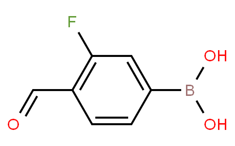 3-Fluoro-4-formylphenylboronic acid