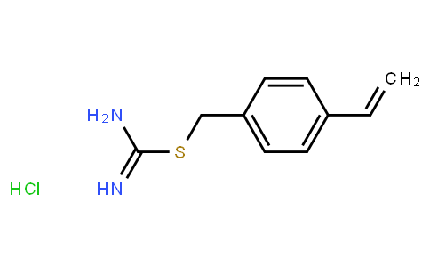 4-[(Amidinothio)methyl]styrene hydrochloride