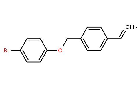 1-bromo-4-((4-vinylbenzyl)oxy)benzene