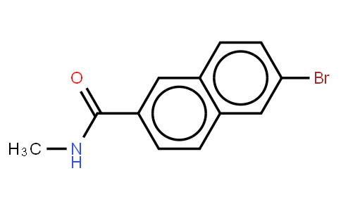 6-Bromo-N-Methyl-2-Naphtoamide