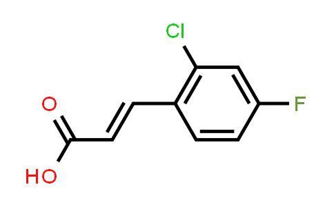 XD2871   133220-86-7   2-Chloro-4-fluorocinnamic acid