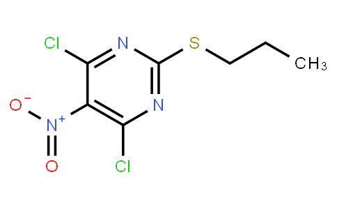 4,6-dichloro-5-nitro-2-(propylthio)-Pyrimidine, | CAS:145783-14-8