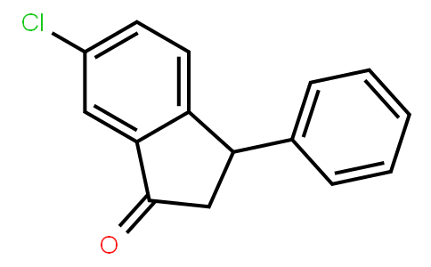 1H-Inden-1-one, 6-chloro-2,3-dihydro-3-phenyl- | CAS:65565-15-3