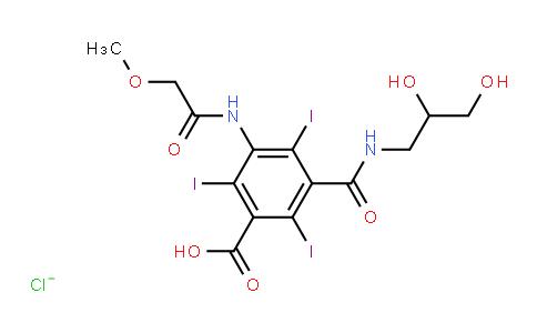 XY0107 | 76350-04-4 | 5-methoxyacetylamino-2,4,6-triiodoisophthalic acid (2,3-dihydroxypropyl)amide chloride