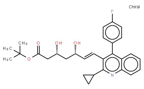 Tert-buthyl Pitavastatin   CAS:586966-54-3