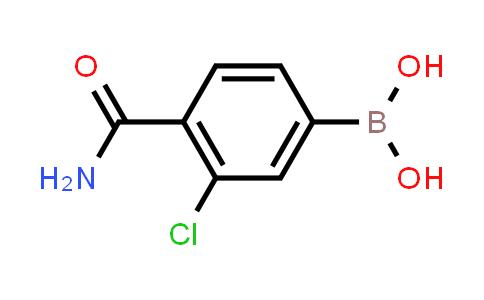 XY0194 | 850589-52-5 | 4-CARBAMOYL-3-CHLOROPHENYLBORONIC ACID