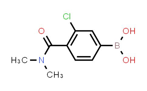 XY0198 | 850589-47-8 | 3-Chloro-4-(N,N-dimethylcarbamoyl)phenylboronic acid