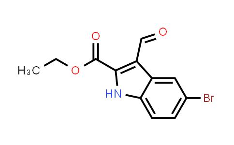 XY0214 | 100123-25-9 | 5-BROMO-3-FORMYL-1H-INDOLE-2-CARBOXYLIC ACID ETHYL ESTER