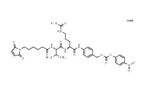 XY0229 | 159857-81-5 | L-OrnithinaMide, N-[6-(2,5-dihydro-2,5-dioxo-1H-pyrrol-1-yl)-1-oxohexyl]-L-valyl-N5-(aMinocarbonyl)-N-[4-[[[(4-nitrophenoxy)carbonyl]oxy]Methyl]phenyl]-