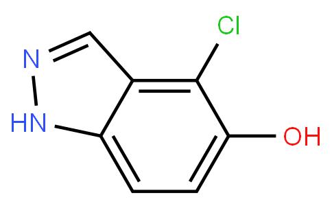 4-chloro-1H-indazol-5-ol | CAS:478834-25-2