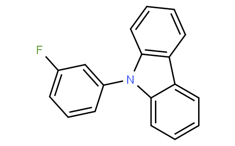 9-(3-fluorophenyl)-9H-carbazole | CAS:81329-47-7